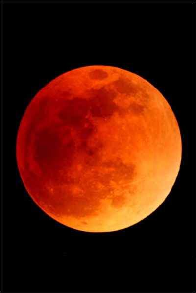 Picture Of Blood Moon