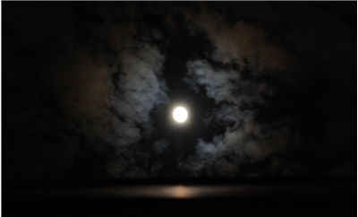 Picture Of Dark Night Full Moon
