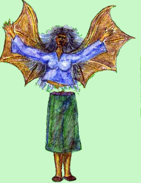 Picture Of Manananggal Of Philippine Folklore