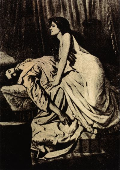 Picture Of The Vampire By Philip Burne Jones 1897