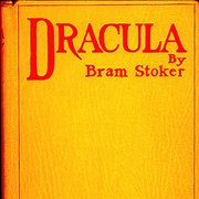 Picture Of Vampire Literature Dracula By Bram Stoker 1897